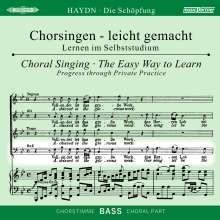 Chorsingen leicht gemacht:Haydn,Die Schöpfung (Bass), CD