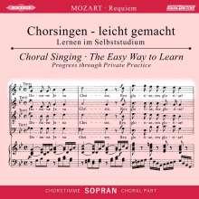Chorsingen leicht gemacht:Mozart,Requiem (Sopran), CD