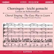 Chorsingen leicht gemacht:Verdi,Requiem (Sopran), 2 CDs