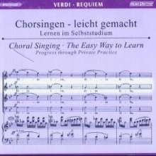Chorsingen leicht gemacht:Verdi,Requiem (Alt), 2 CDs