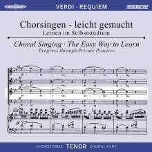 Chorsingen leicht gemacht:Verdi,Requiem (Tenor), 2 CDs