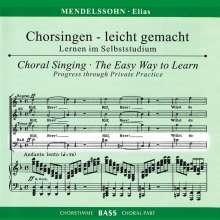 Chorsingen leicht gemacht:Mendelssohn,Elias (Bass), 2 CDs
