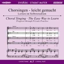Chorsingen leicht gemacht:Dvorak,Stabat Mater (Alt), 2 CDs
