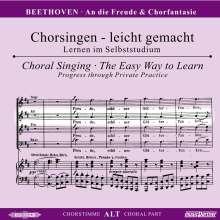 Chorsingen leicht gemacht:Beethoven,An die Freude (Alt), CD