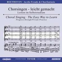 Chorsingen leicht gemacht:Beethoven,An die Freude (Tenor), CD
