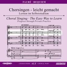 Chorsingen leicht gemacht:Faure,Requiem (Alt), CD