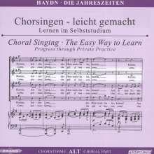 Chorsingen leicht gemacht:Haydn,Die Jahreszeiten (Alt), 2 CDs
