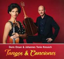 Doris Orsan & Johannes Tonio Kreusch: Tangos & Canciones, CD