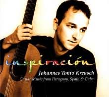 Johannes Kreusch (geb. 1970): Inspiracion, CD
