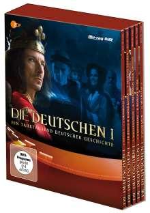 Die Deutschen I (Teil 1-10) (Blu-ray), 5 Blu-ray Discs