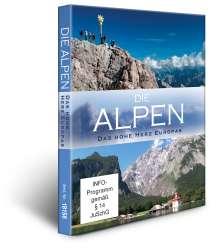 Die Alpen: Deutschland & Österreich / Italien & Schweiz, 2 DVDs