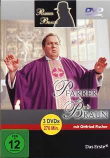 Pfarrer Braun Box 3, 3 DVDs