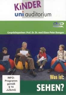 Kinder-uni-auditorium: Was ist Sehen?, DVD