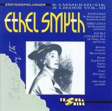 Ethel Smyth (1858-1944): Kammermusik & Lieder Vol.3, CD