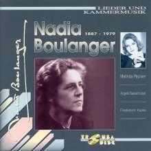Nadia Boulanger (1887-1979): Lieder, CD