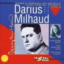 Darius Milhaud (1892-1974): Streichquartette Nr.3-5, CD