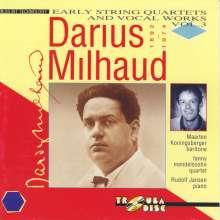 Darius Milhaud (1892-1974): Streichquartette Nr.6-8, CD