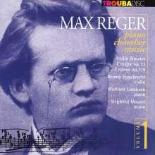 Max Reger (1873-1916): Sonaten f.Violine & Klavier opp.72 & 139, CD