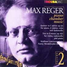 Max Reger (1873-1916): Klavierquintett op.64, CD