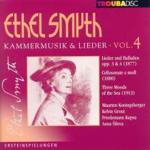 Ethel Smyth (1858-1944): Kammermusik & Lieder Vol.4, CD