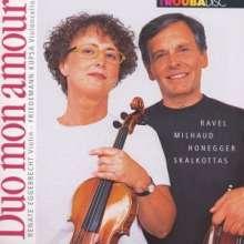 Renate Eggebrecht - Duo mon amour, CD