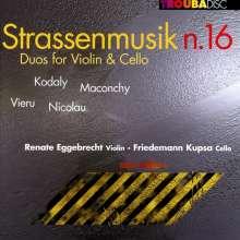 Renate Eggebrecht - Strassenmusik Nr.16, CD
