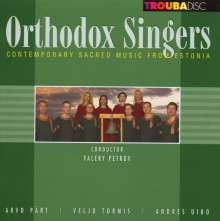 Orthodox Singers - Contemporary Sacred Music from Estonia, CD
