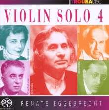 Renate Eggebrecht - Violin solo Vol.4, Super Audio CD