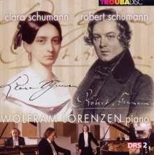 Wolfram Lorenzen - Robert Schumann/Clara Schumann, CD