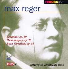 Max Reger (1873-1916): Sonatinen für Klavier op.89 Nr.1 & 3, CD