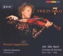 Renate Eggebrecht Violin solo Vol.7, 3 CDs