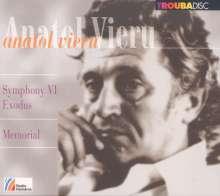 """Anatol Vieru (1926-1998): Symphonie Nr.6 op.112 """"Exodus"""", CD"""