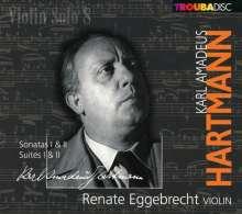 Renate Eggebrecht - Violin solo Vol.8, CD