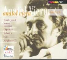 Anatol Vieru (1926-1998): Symphonien Nr.2 & 7, 2 CDs