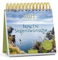 Postkartenkalender Irische Segenswünsche 2021, Kalender