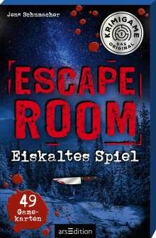 Jens Schumacher (geb. 1974): Escape Room - Eiskaltes Spiel. Ein Escape-Krimi-Spiel, Diverse