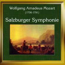"Wolfgang Amadeus Mozart (1756-1791): Divertimenti KV 136-138 ""Salzburger Sinfonien"", CD"