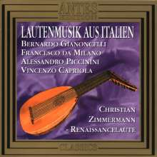 Christian Zimmermann,Renaissancelaute, CD