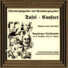 Johann Valentin Rathgeber (1682-1750): Augsburger Tafelkonfekt, CD
