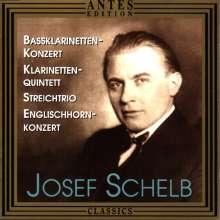 Josef Schelb (1894-1977): Konzert für Baßklarinette, CD