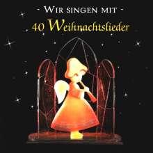 Wir singen mit - 40 Weihnachtslieder, CD