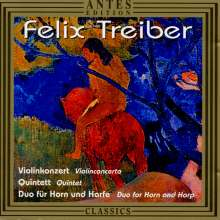 Felix Treiber (geb. 1960): Violinkonzert, CD