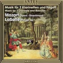 Rick LaSalle (geb. 1951): Trio f.2 Klarinetten & Fagott op.46, CD