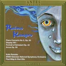 Raimo Kangro (1949-2001): Klavierkonzert Nr.2 op.60, CD