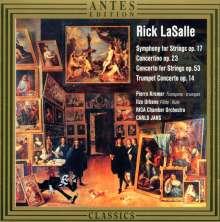 Rick LaSalle (geb. 1951): Streichersymphonie op.17, CD