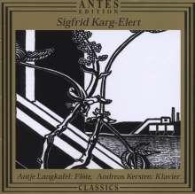 Sigfrid Karg-Elert (1877-1933): Werke für Flöte & Klavier, CD