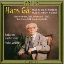 Hans Gal (1890-1987): Biedermeiertänze op.66 für Mandolinenorchester, CD