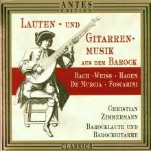 Christian Zimmermann - Lauten- & Gitarrenmusik des Barock, CD
