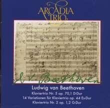 Ludwig van Beethoven (1770-1827): Klaviertrios Nr.2 & 5, CD