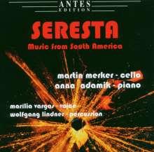 Martin Merker - Seresta (Musik aus Südamerika), CD